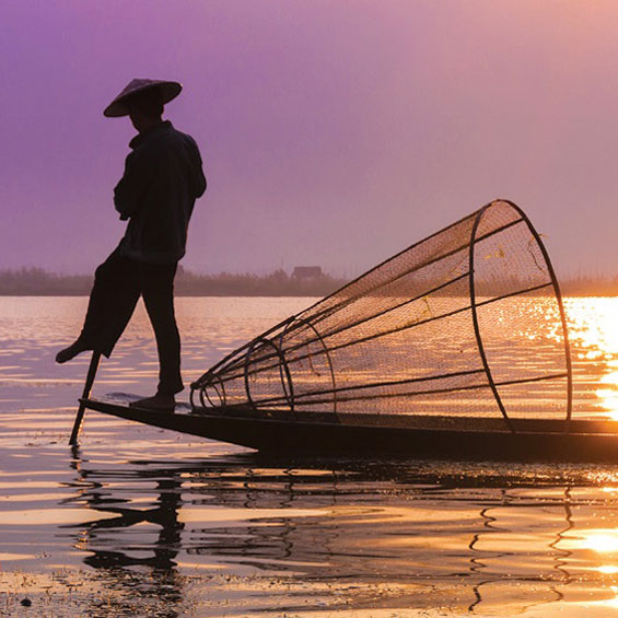 Wonders of Myanmar with Inle Lake