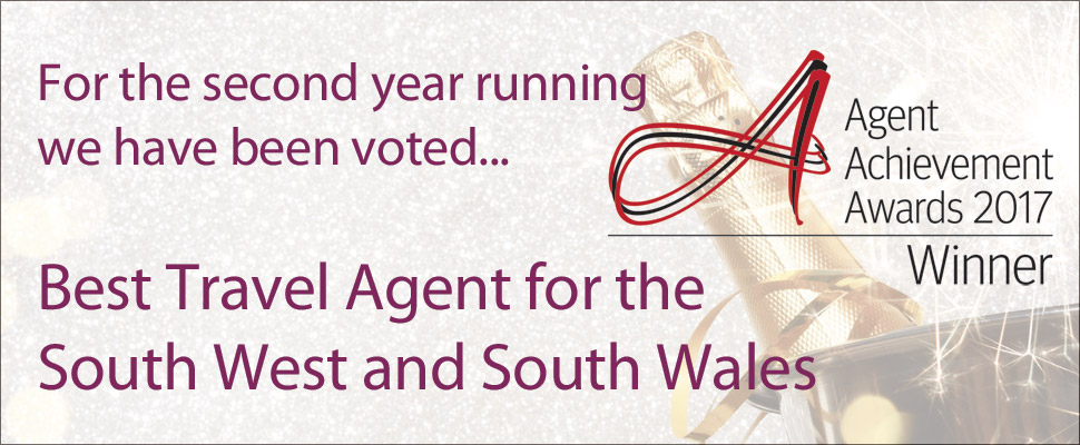 Best Travel Agent for the South West and South Wales 2017