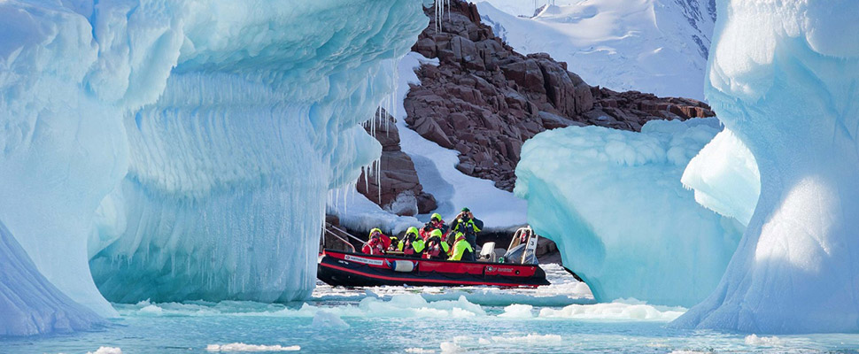 Antarctica, the Polar Circle and Beyond