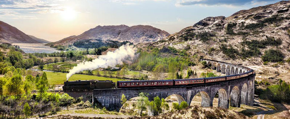 Steam Railway, Scotland