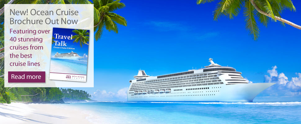 Ocean cruise brochure out now