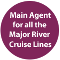 Main Agent for all the Major River Cruise Lines
