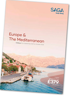 Europe and Mediterranean brochure cover
