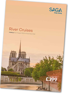 River cruise brochure cover