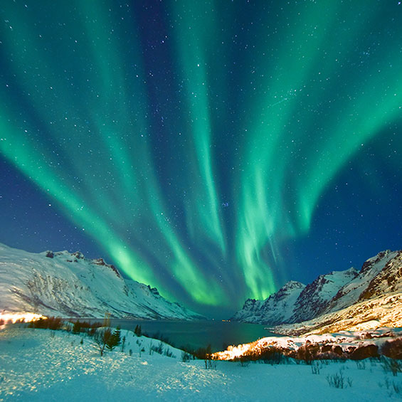 Norway's Northern Lights with Sami National Day