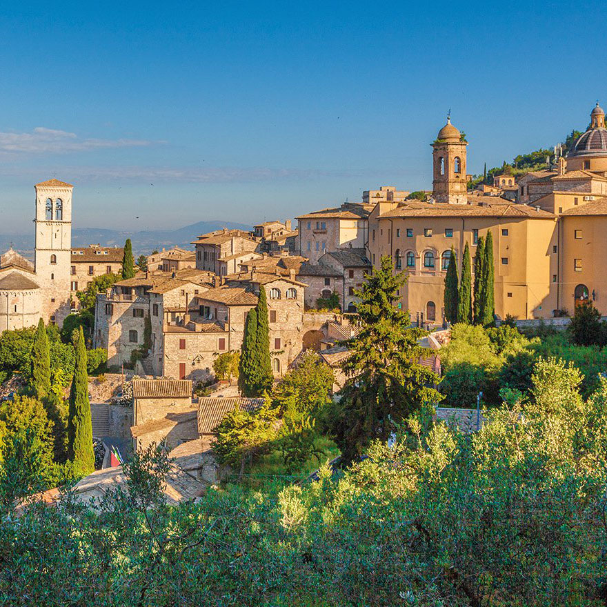 Umbria, Perugia and Assisi: The Heart of Italy