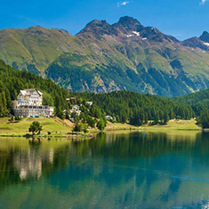 The Rhine and Glacier Express to St Moritz
