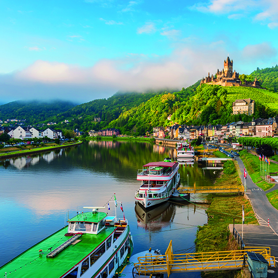 Scenic Sights of the Beautiful Moselle