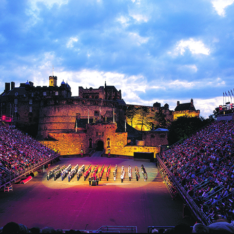 Edinburgh Military Tattoo, Stirling & the Trossachs