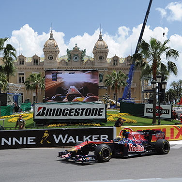Monaco Grand Prix with Leger