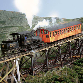 New England in the Fall with Great Rail