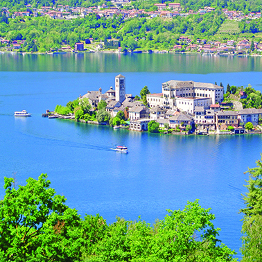 Scenic Lake Orta for Single Travellers